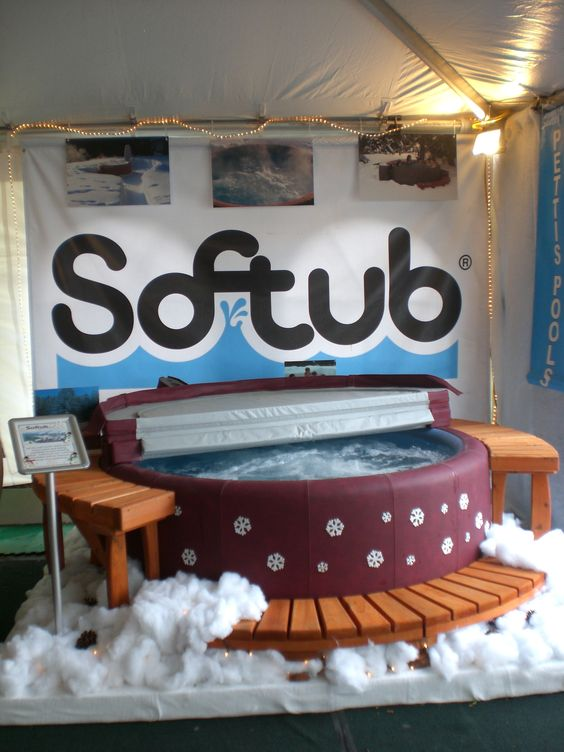 "Our ""snow"" tub at the Great New York State Fair 2011"
