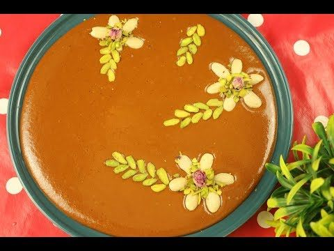 حلاوة جكليتيه بأسهل طريقة بدون دقيق وبدون شيرة وبدون نشا مع رباح محمد الحلقة 650 Youtube Food Desserts Pudding