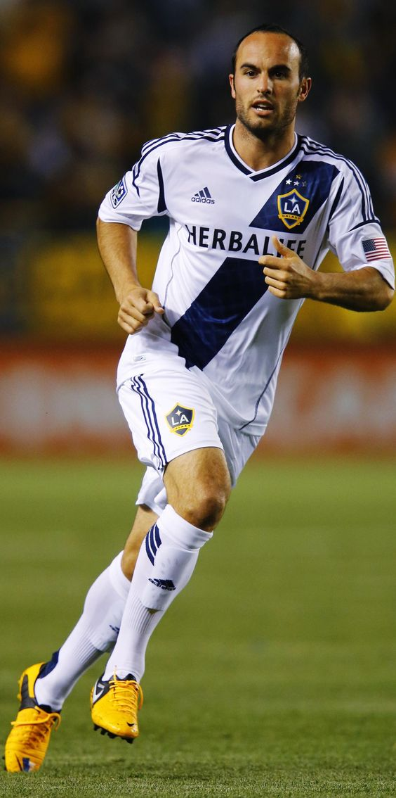 Landon Donovan - Bayer Leverkusen, San Jose Earthquakes, Los Angeles Galaxy, Bayern Munich, Everton, United States.