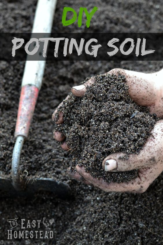 Diy potting soil gardens bags and good ideas for Garden soil or potting soil