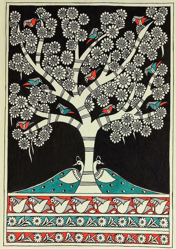 pichwai paintings essay Warli painting is a style of tribal art mostly created by the tribal people from the north  warli artists use their clay huts as the backdrop for their paintings,.