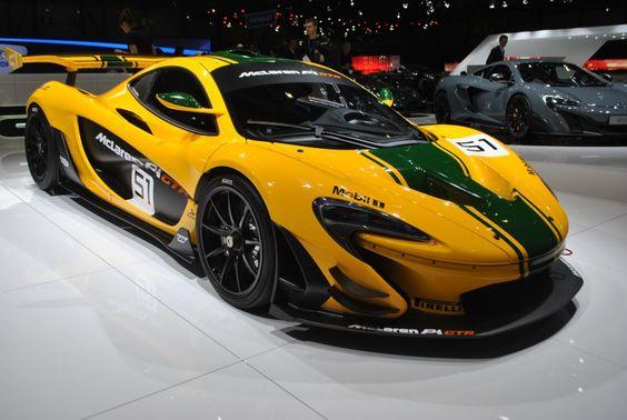 McLaren P1 GTR : 1000 chevaux pour tailler la piste : Salon de Genève 2015 : les voitures de luxe et de sport à l'honneur - Linternaute