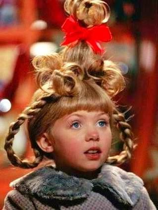 Cindy Lou Who Costume Diy In 2020 Hair Styles Whoville Hair Cindy Lou Who Hair