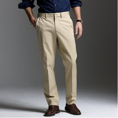 Images of Mens Black Khaki Pants - Kianes