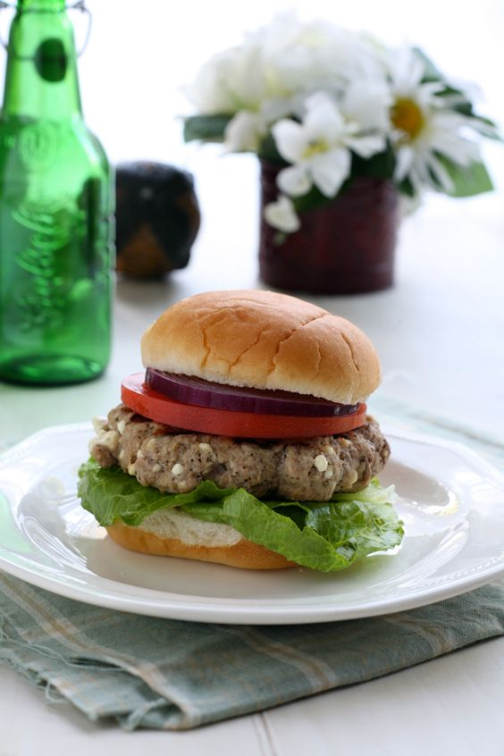 ... burgers garlic ground turkey hamburgers garlic powder feta stuffed