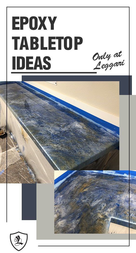 Kitchen Epoxy Countertops Diy Epoxy Countertop Project You Can
