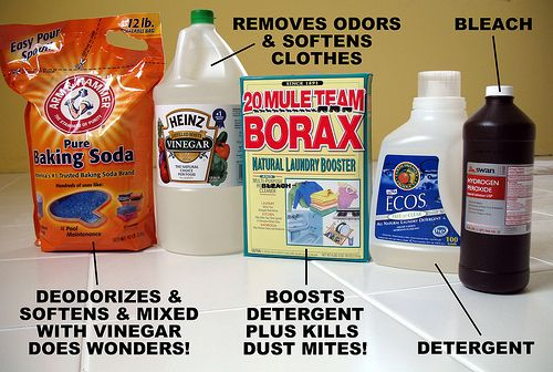 Borax and Lemon Juice – eHow How to make Natural Toilet Bowl Cleaners        Pour 1 cup of Borax into a small bowl.      Pour 1/2 cup of lemon juice over the Borax and gently stir with a spoon into a paste.      Flush the toilet to wet the sides, then rub the paste onto the toilet with a sponge.      Let it sit for 2 hours before scrubbing thoroughly. This is great for removing a stubborn stain, like a toilet bowl ring.