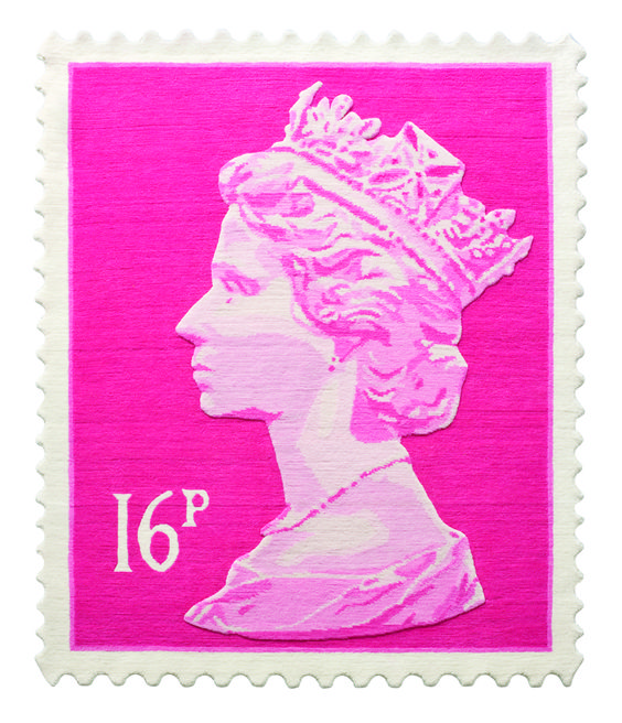 pink stamp small