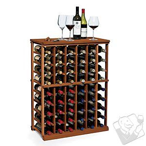N'FINITY Wine Rack Kit - 6 Column Half Height - Wine Enthusiast