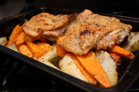 Recipe: Chicken and Two Potatoes - Rae Gun Ramblings