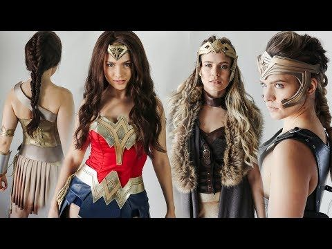 Wonder Woman Hairstyles Hair Tutorial Kayleymelissa Youtube Womens Hairstyles Hair Styles Long Hair Styles