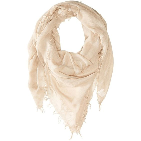 Chan Luu Cashmere and Silk Scarf (Doeskin) ($195) ❤ liked on Polyvore featuring accessories, scarves, lightweight scarves, fringe scarves, chan luu, chan luu scarves and fringed shawls