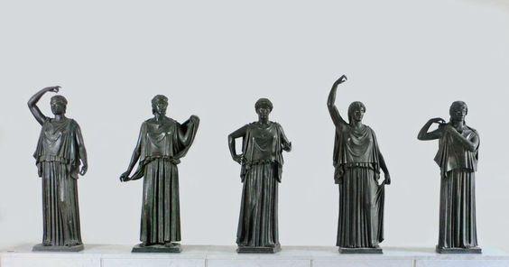 Dancers or Danaids from Villa dei Papiri: