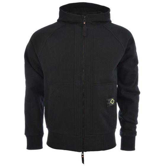 Mastrum hooded sweat | hoodie in black | EQVVS
