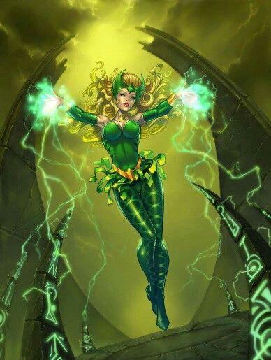 Amora the Enchantress.