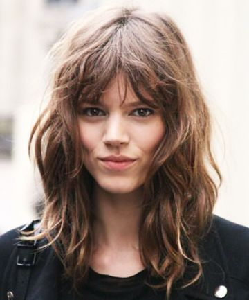 The modern shag (aka the swag) is the cool-girl hairstyle you need to try: