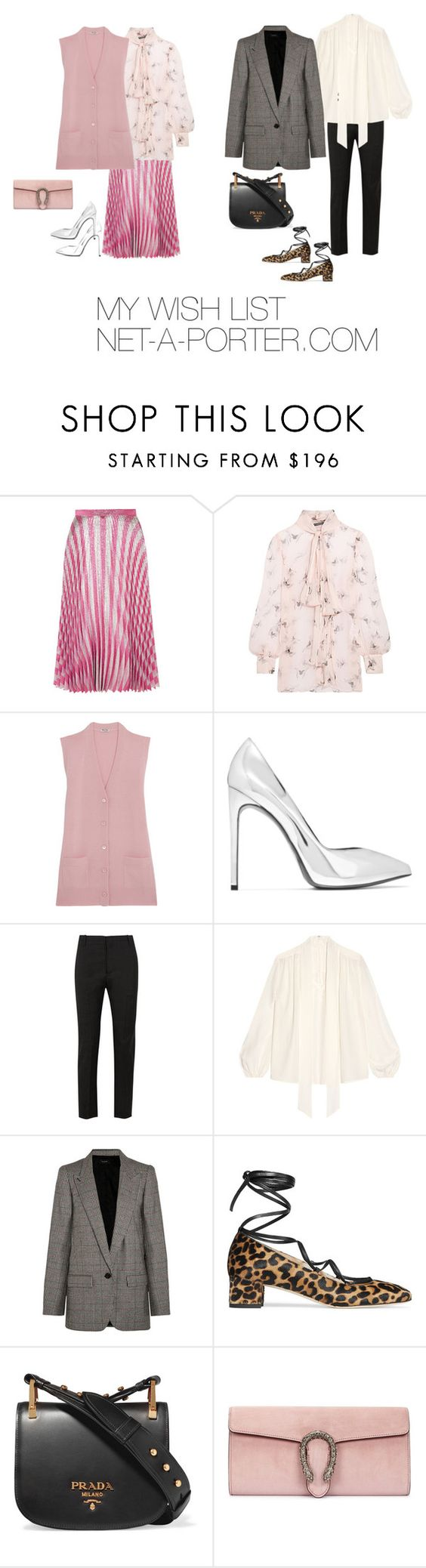 """MY WISH LIST NET-A-PORTER.COM"" by maellog ❤ liked on Polyvore featuring Gucci, Alexander McQueen, Miu Miu, Étoile Isabel Marant, Isabel Marant, Prada, shopping, net, mywishlist and momwithsneakers"