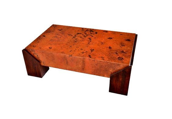Copper coffee table Hammered copper and Coffee tables on