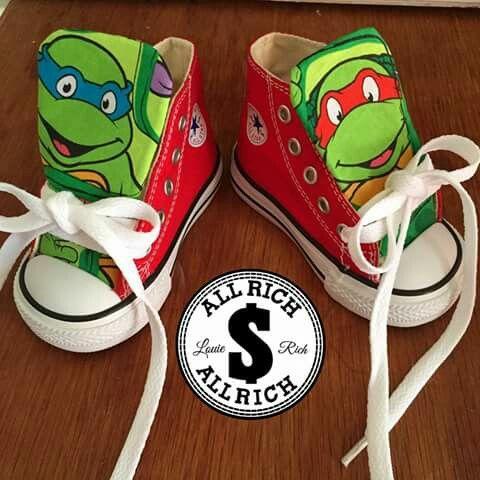 Ninja turtle converse