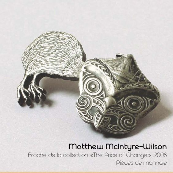Matthew McIntyre-Wilson Broche de la collection - «The Price of Change»: