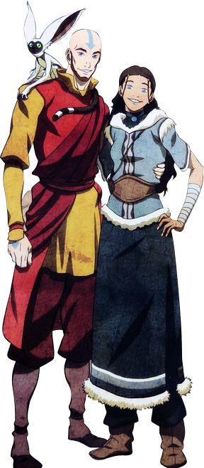 Adult Aang and Katara, Avatar, Legend of Korra | Avatar Halloween ...: https://www.pinterest.com/pin/250442429252597195