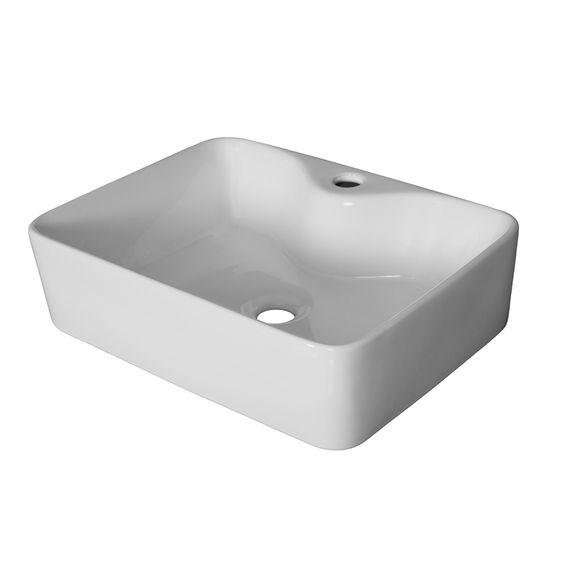 Bathroom Sinks Bunnings stein vessel sterling square basin 480x365x130mm sku 00237870