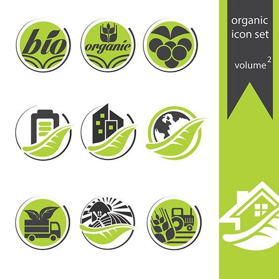 organic free icon set volume 2 on Behance