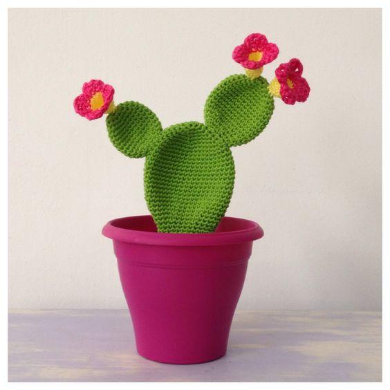 Cactus au crochet: