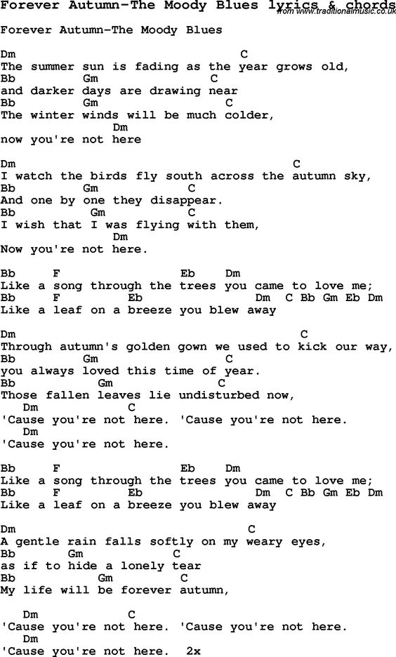 On This Day Lyrics Moody Blues - 28 images - Song Lyrics For The ...