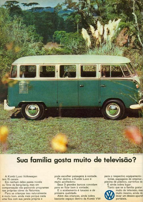 1967 VW Kombi 1500 Luxo - Brasil