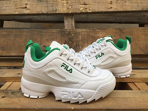 White Green Foreign Trade Original Single Us Genuine Fila Fila