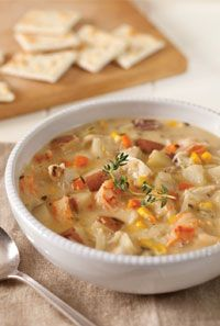 Seafood chowder tried and true delicious and easy used clams and