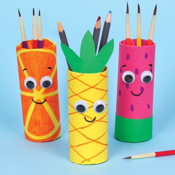Summer Fruit Pen Pots | Free Craft Ideas | Baker Ross