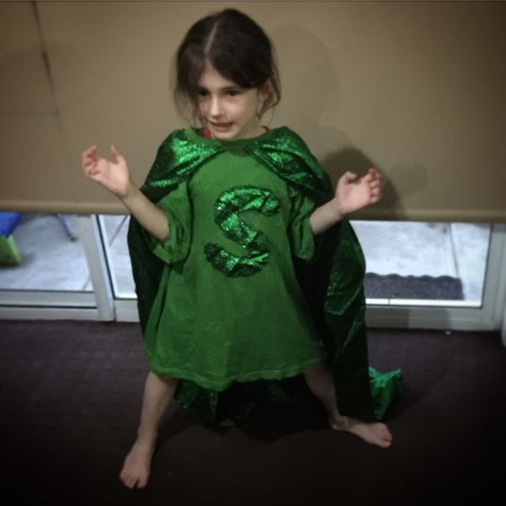 My daughter also likes to cosplay.