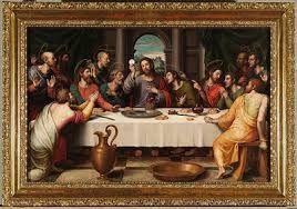 """""""La Última Cena"""" Pintura de Leonardo Da Vincci"""