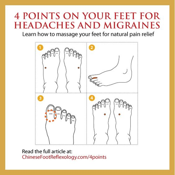 No one should have to suffer from headaches or migraines. It sucks the life right out of you and keeps you from doing the most basic day to day activities. That's why I'm sharing this wonderful article on Chinese Reflexology for headaches.