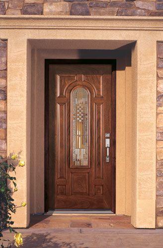 River Doors Feather River Door Bellante Wrought Iron: Feather River Door Monroe Entry Door.