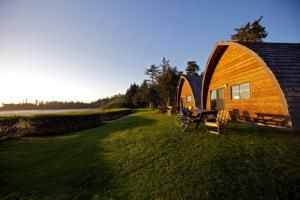 Ocean Village, Tofino, Canada. Definitely one cool place to stay!