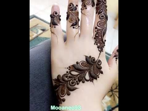 اجمل نقش حناء 2019 Youtube Mehndi Designs For Fingers Mehndi Art Designs Beginner Henna Designs