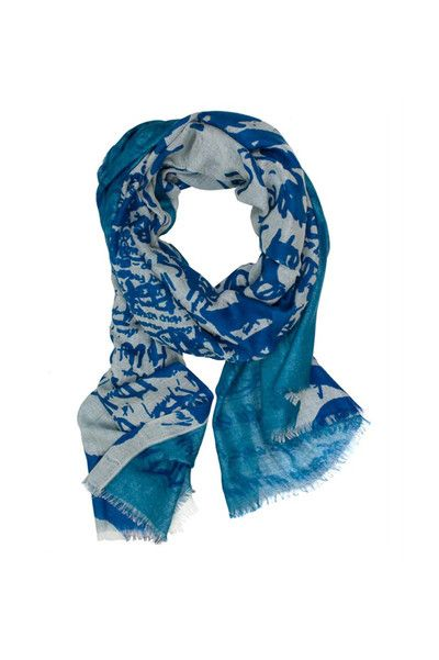 The A Dream Within Scarf in Teal by We Are Owls