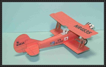 Tokyo Airplane Paper Model Free Template Download Aviao