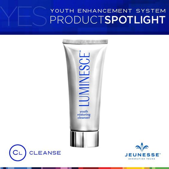 Beautiful skin for men and women starts here, with luminesce™ youth restoring cleanser.  Read more about the luminesce youth restoring cleanser on my site