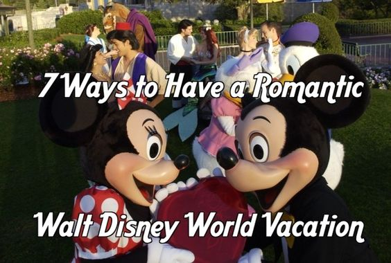 7 Ways to have a romantic Walt Disney World vacation. http://disneydose.com/a-romantic-day-at-disney-world/