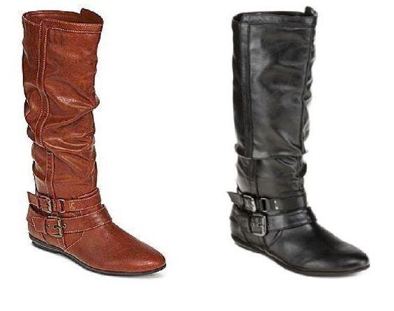 Arizona women's boots tall fashion sloan man made slip on size 7 ...