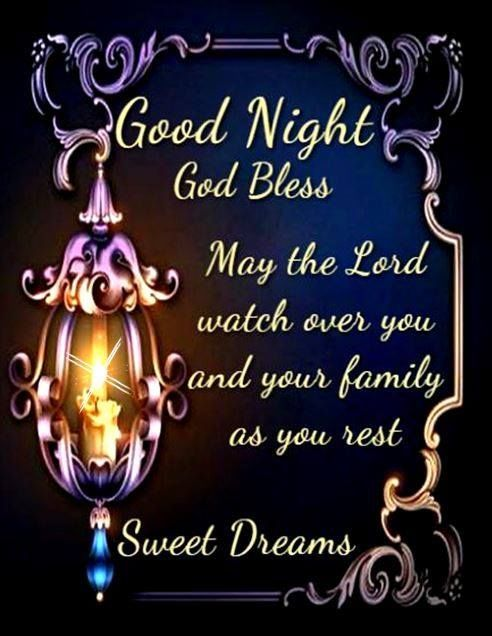 Good Night God Bless Pictures, Photos, and Images for Facebook, Tumblr,  Pinterest, and Twitter | Good night blessings, Good night sweet dreams,  Blessed