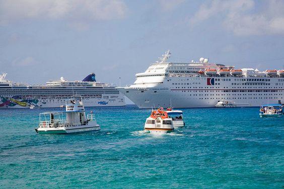 Georgetown Grand Cayman Islands: Islands Tender, Cayman Islands, Island Ships,  Ocean Liner, Anchor Water, Virgin Islands