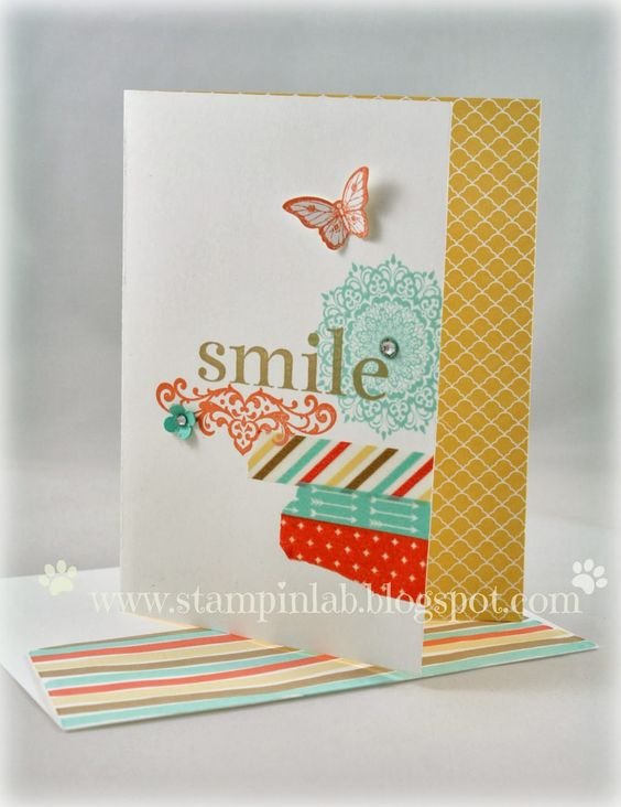 Happy Day Stamp Set Andrea Gideon-Stampinlab