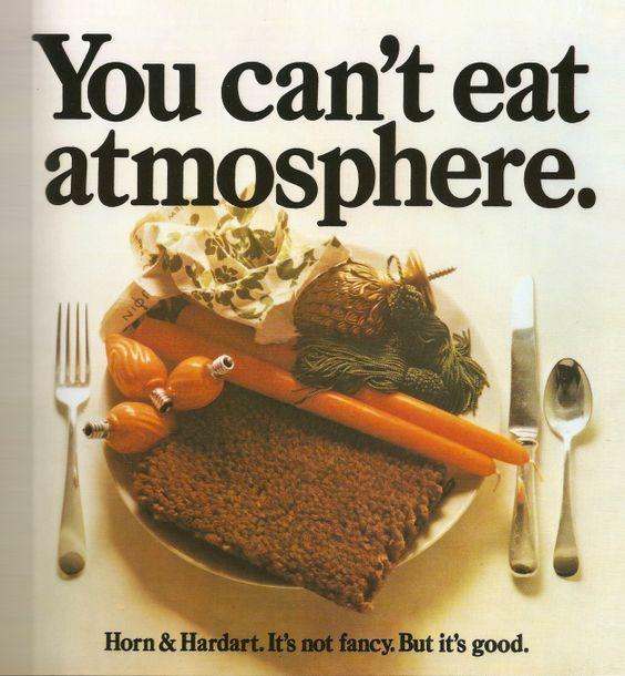 Horn & Hardart ad, 1966.