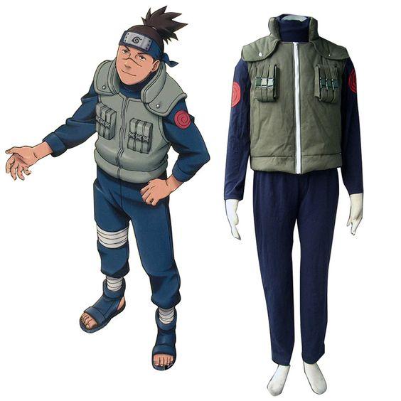 Naruto Konoha Jonin Cosplay Costumes