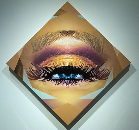 Cathexis Eye, 2013, oil on panel